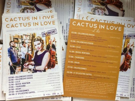 cactus in love en concert